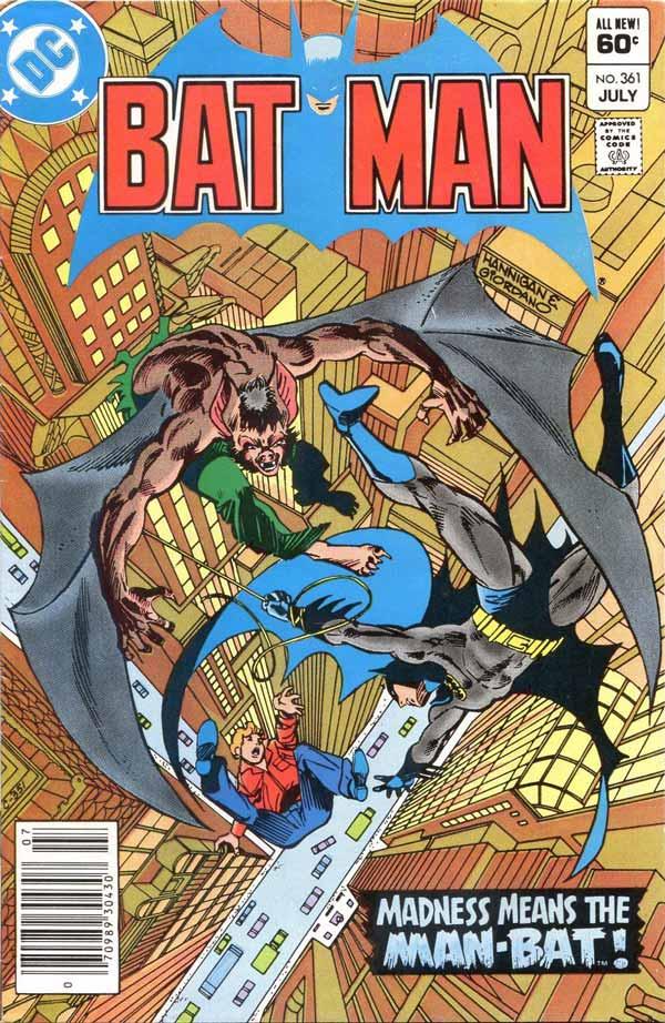 Batman #361, Гарві Буллок, Харви Буллок, Harvey Bullock, дс комікси