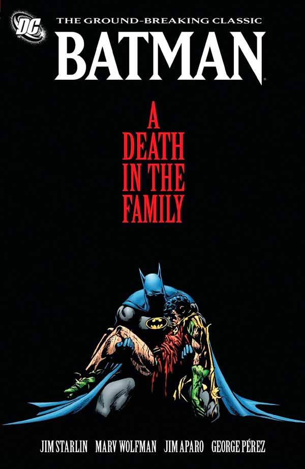 A Death In The Family, DC comics, комікси дс, комікс українською дс, комікси про Бетмена на Джокера