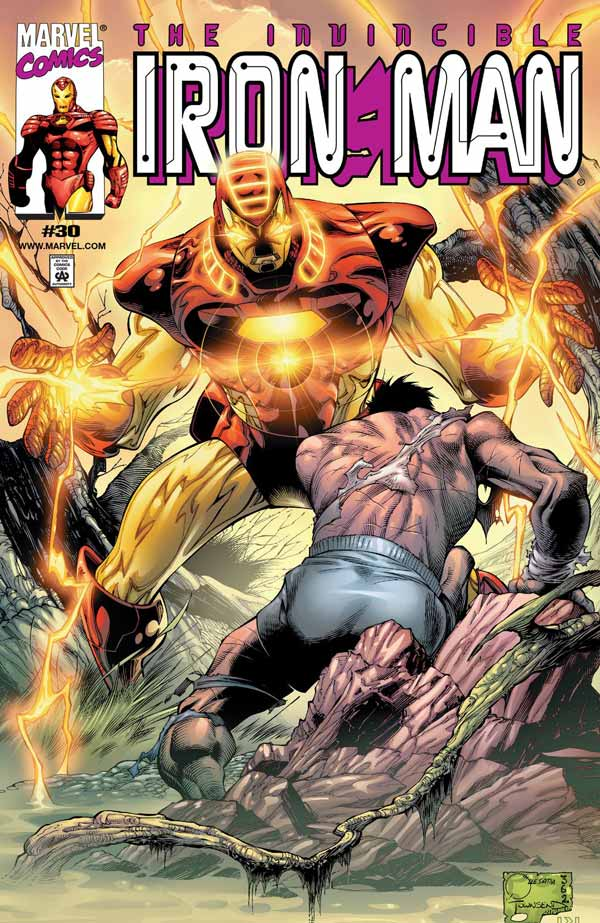 The Mask in the Iron Man (Iron Man Vol. 3 #26-30), комікси Залізна Людина, Тоні Старк Марвел комікси