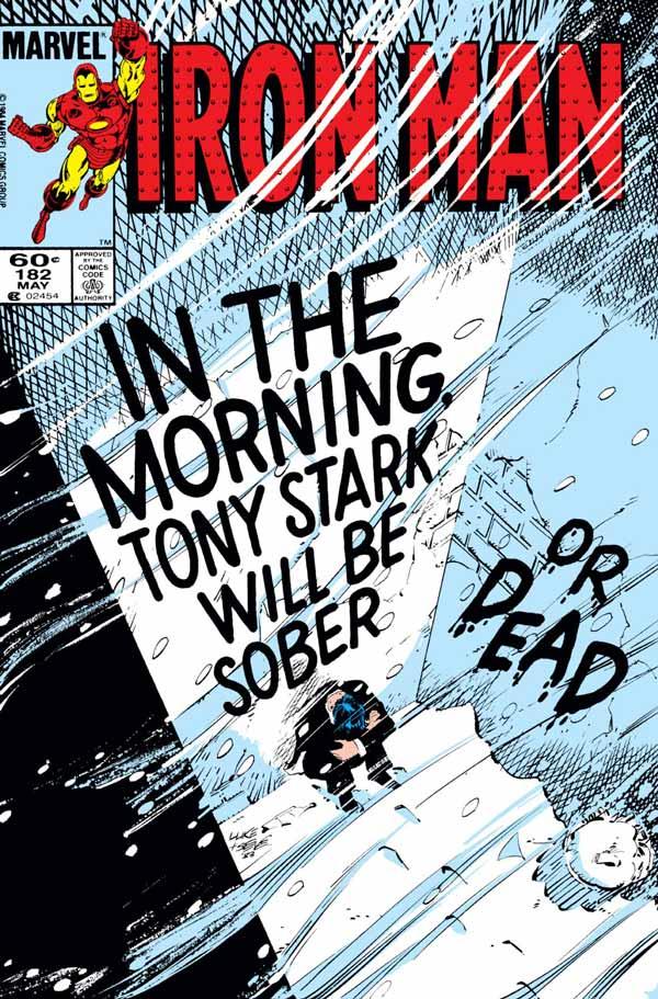 Deliverance (Iron Man Vol. 1 #182), комікси Залізна Людина, Тоні Старк Марвел комікси