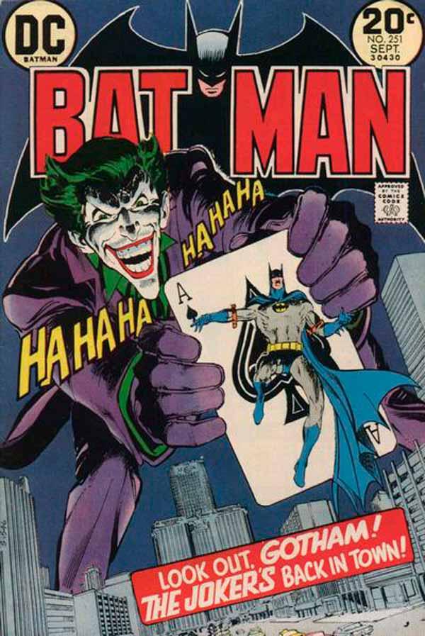 Batman #251 Joker's Five-Way Revenge, комікси про Бетмена та Джокера, комікси дс