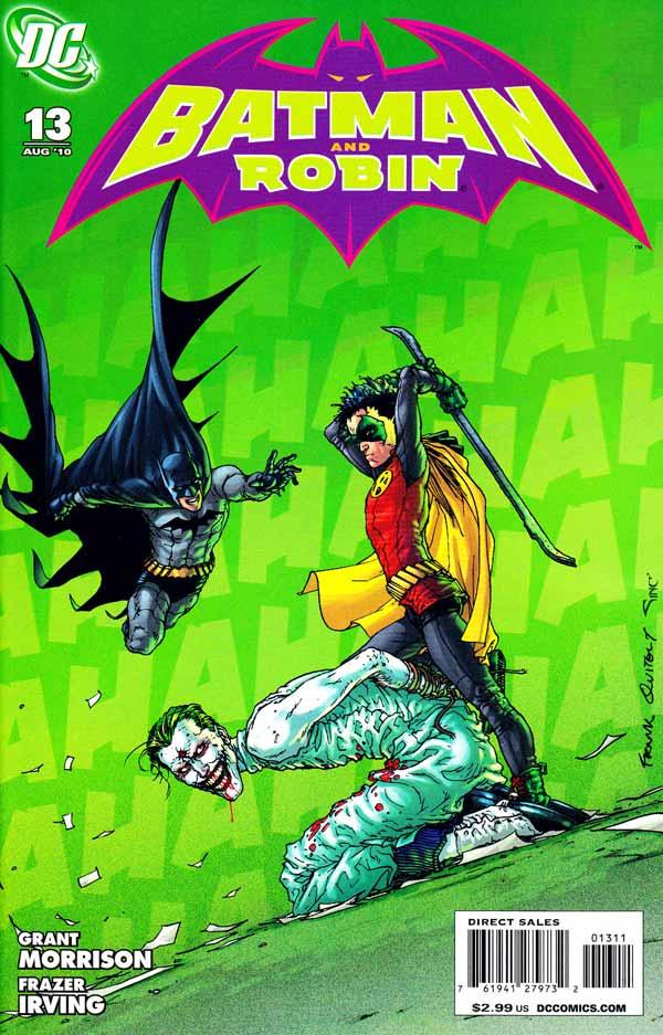 Batman And Robin Must Die!, комікси Бетмен Джокер, комікси українською дс