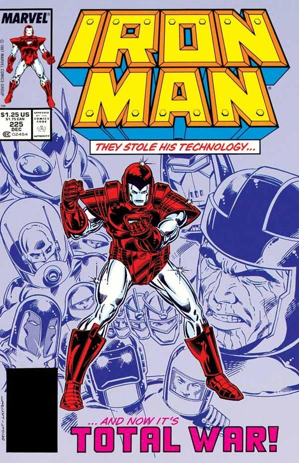 #3 Armor Wars (Iron Man Vol. 1 #225-232),комікси Залізна Людина, Тоні Старк Марвел комікси