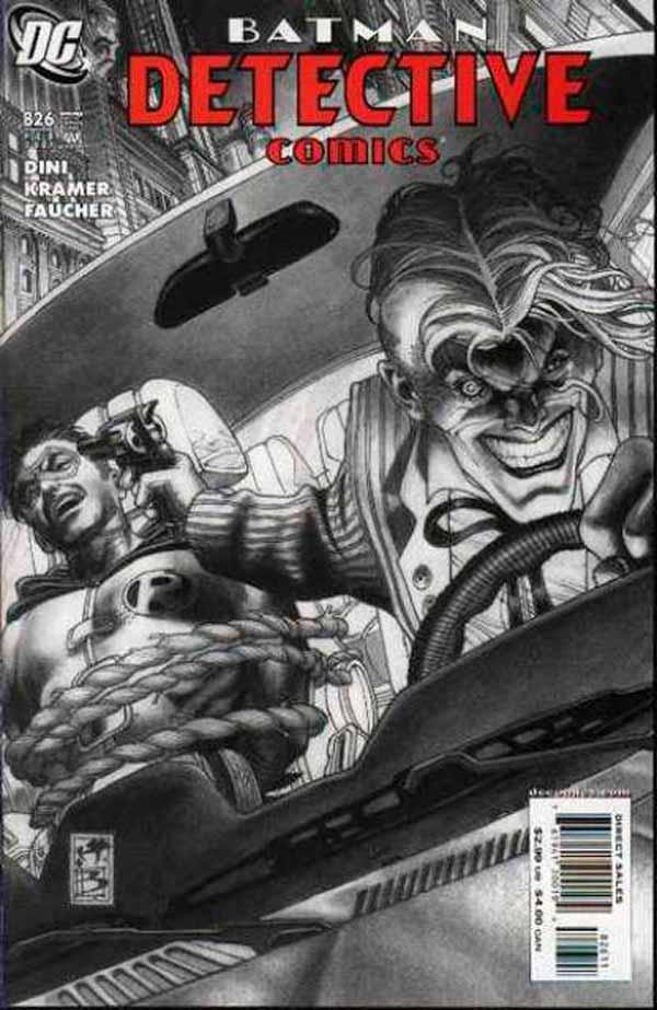 Detective comics #826 - Slayride, комікси про Бетмена та Джокера, Робін DC comics