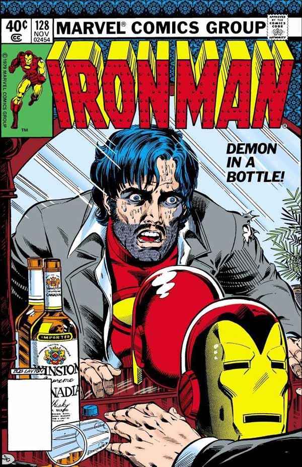 #1 Demon in a Bottle (Iron Man Vol. 1 #120-129), комікси Залізна Людина, Тоні Старк Марвел комікси