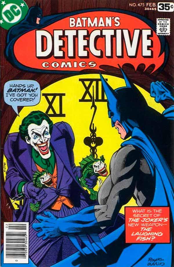 Detective comics #475 - The Laughing Fish, комікси про Джокера та Бетмена, комікси українською, дс комікс