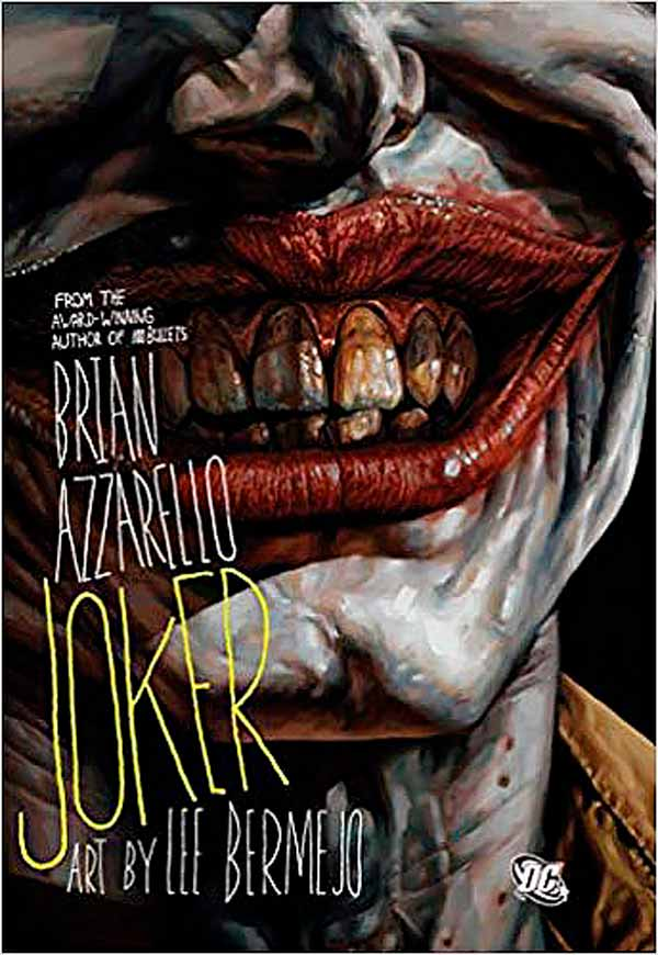 Джокер Брайан Азарелло, комікси про Бетмена та Джокера, комікси дс, DC comics
