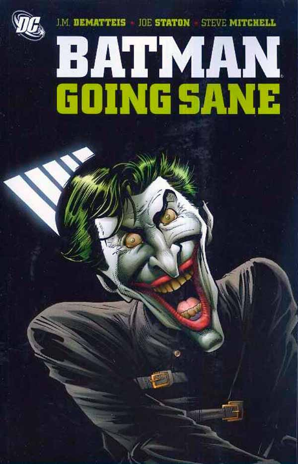 Batman Going Sane, комікси про Джокера та Бетмена, комікси українською, дс комікс
