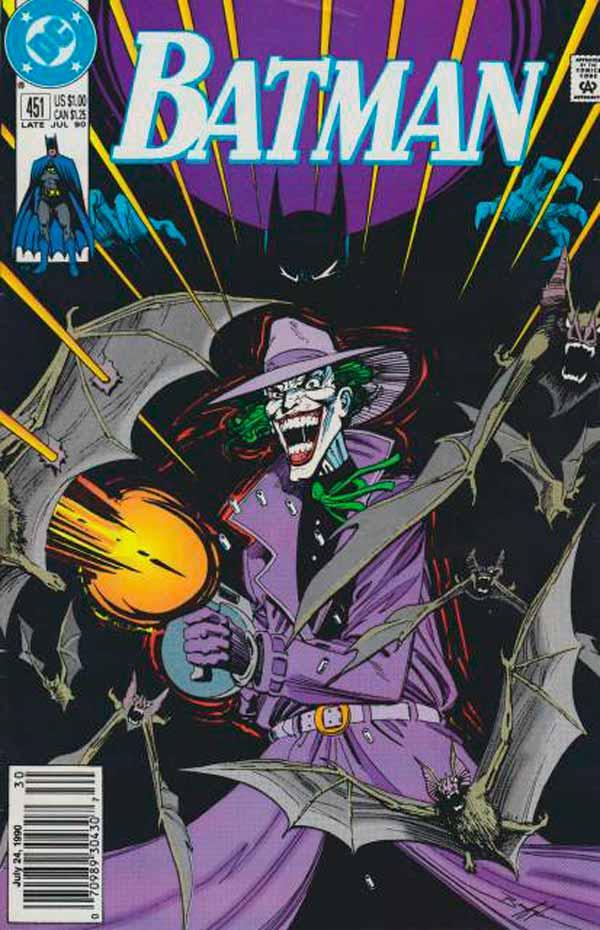 The Return Of The Joker, Batman #451, комікси про Джокера та Бетмена, комікс дс