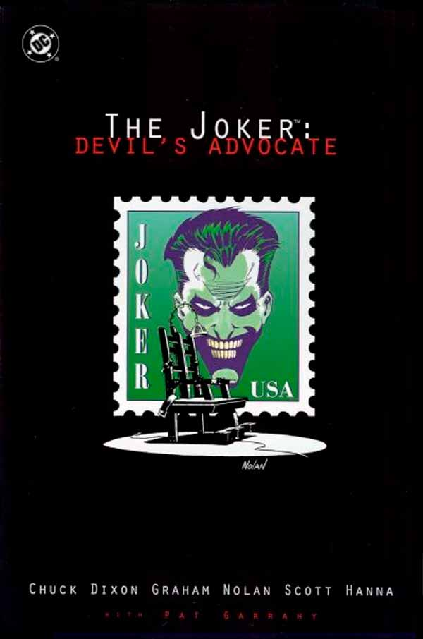 Joker: Devil's Advocate, комікси про Джокера та Бетмена, комікс дс