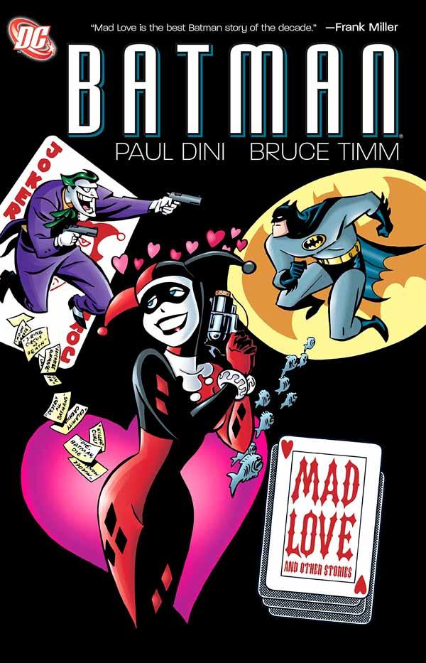Batman: Mad Love, комікси про Джокера та Бетмена, комікси DC українською