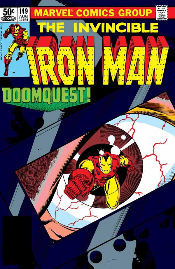 Doomquest (Iron Man Vol. 1 #149-150), комікси Залізна Людина, Тоні Старк Марвел комікси