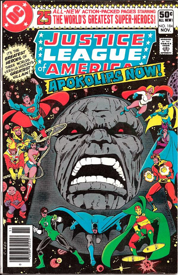 Justice-League #184, Wonder Woman, комікси DC, комікси Чудо-жінка