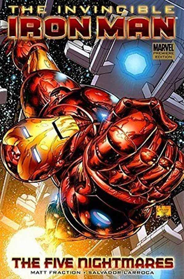 The Five Nightmares of Tony Stark (Invincible Iron Man #1 - 7), комікси Залізна Людина, Тоні Старк Марвел комікси