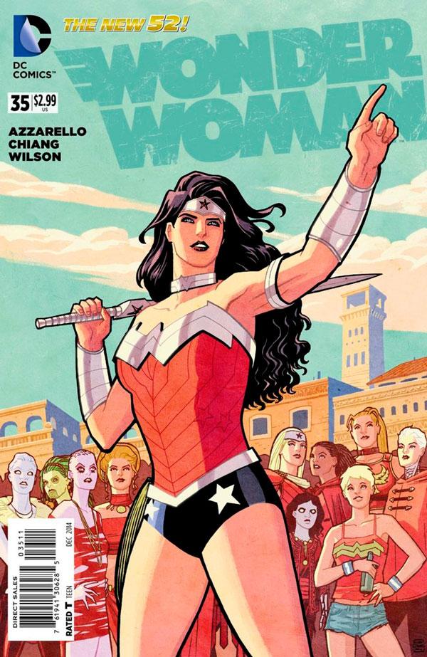 Wonder Woman (New 52) #35, Діана Принц, комікси Диво-Жінка ДС, Wonder woman comics
