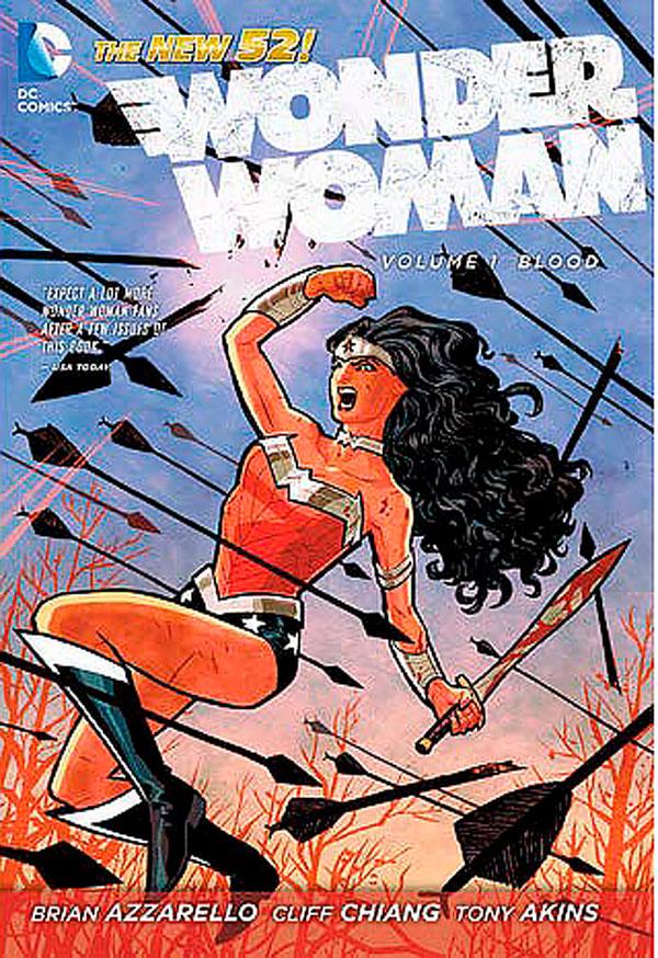 Wonder Woman, Vol. 1: Blood, комікси Диво-Жінка, комікси ДС