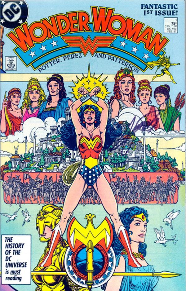 Wonder Woman by George Perez Omnibus Vol. 1, Wonder Woman, комікси DC, комікси Чудо-жінка