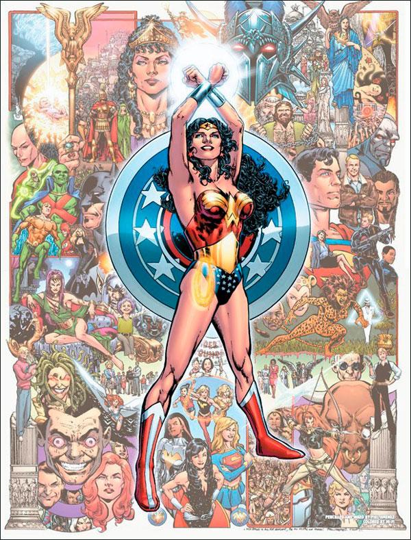 Діана Принц, Диво-жінка, комікси про Диво-жінку, ДС-комікс