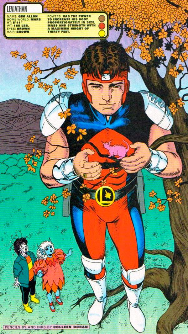 Гім Аллон, Colossal Boy, левіафан, комікси DC українською, dc comics