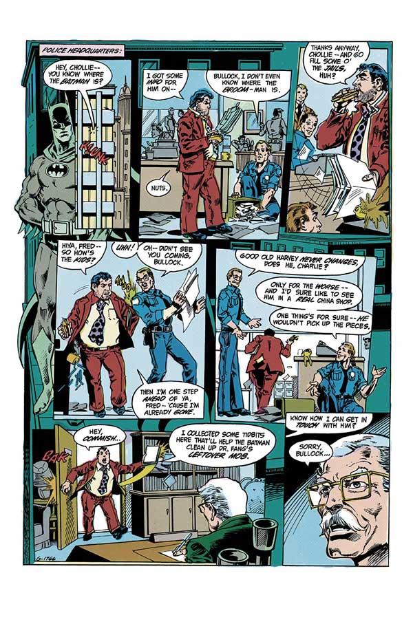Detective Comics #549, Бетмен, Гарві Буллок, комікси українською ДС