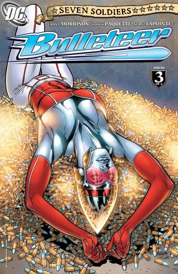 Seven Soldiers: Bulleteer #3 (of 4), buleteer, комікси DC українською, dc comics