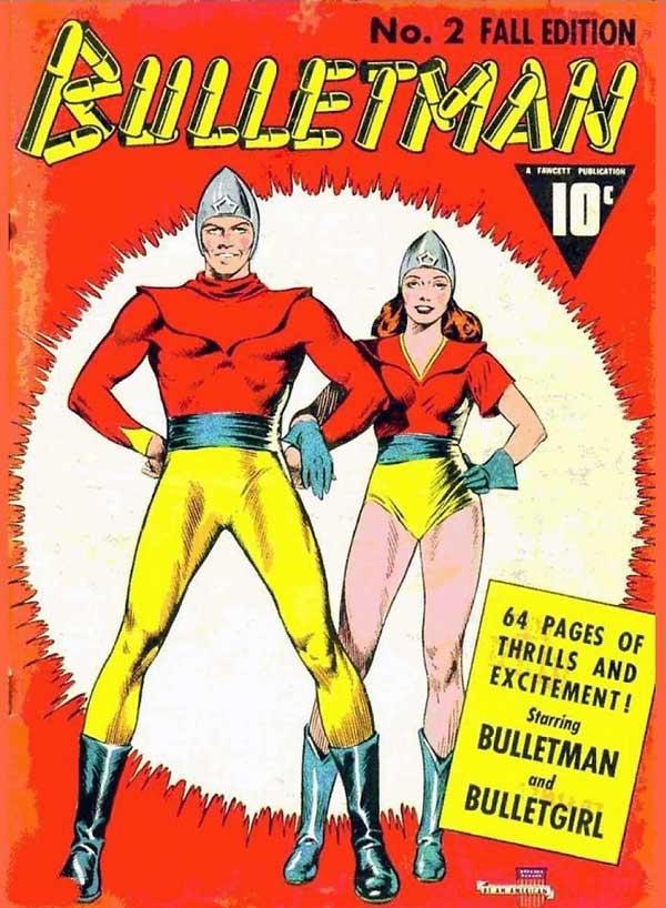 Bulletman #2, комікси DC українською, dc comics, дівчина-куля