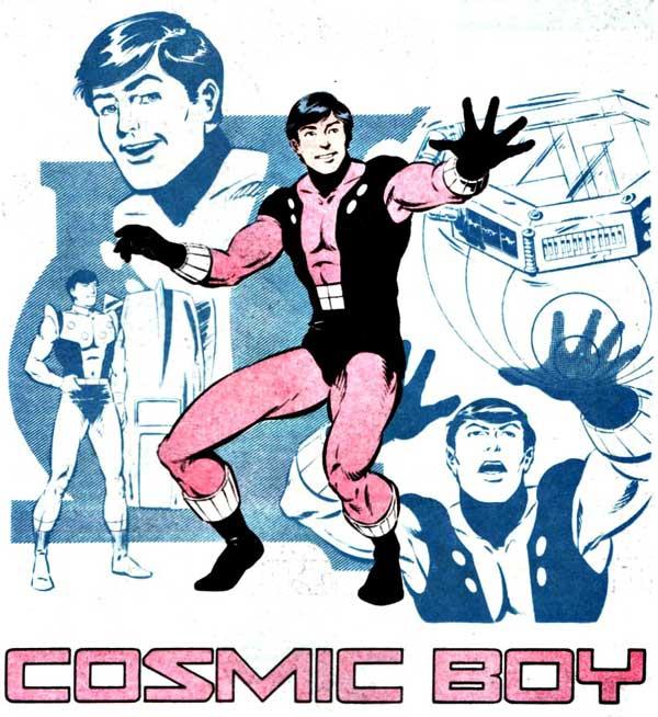 Космічний хлопчик, comics boy, комікси DC українською, dc comics