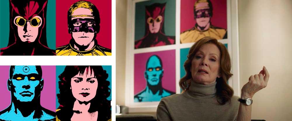Watchmen серіал, обзор сериала Хранители, Вартові серіал огляд, Лори Юспешик, Лори Блейк, Laurel Jane Juspeczyk