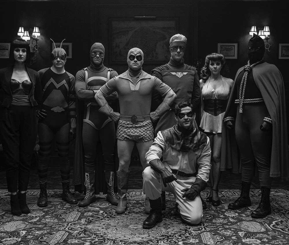 Watchmen серіал, обзор сериала Хранители, Вартові серіал огляд, Мінітмени, Minutemen