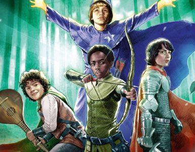 комікси Дивні Дива, Dark Horse Comics Очень странные дела, Stranger Things and Dungeons & Dragons