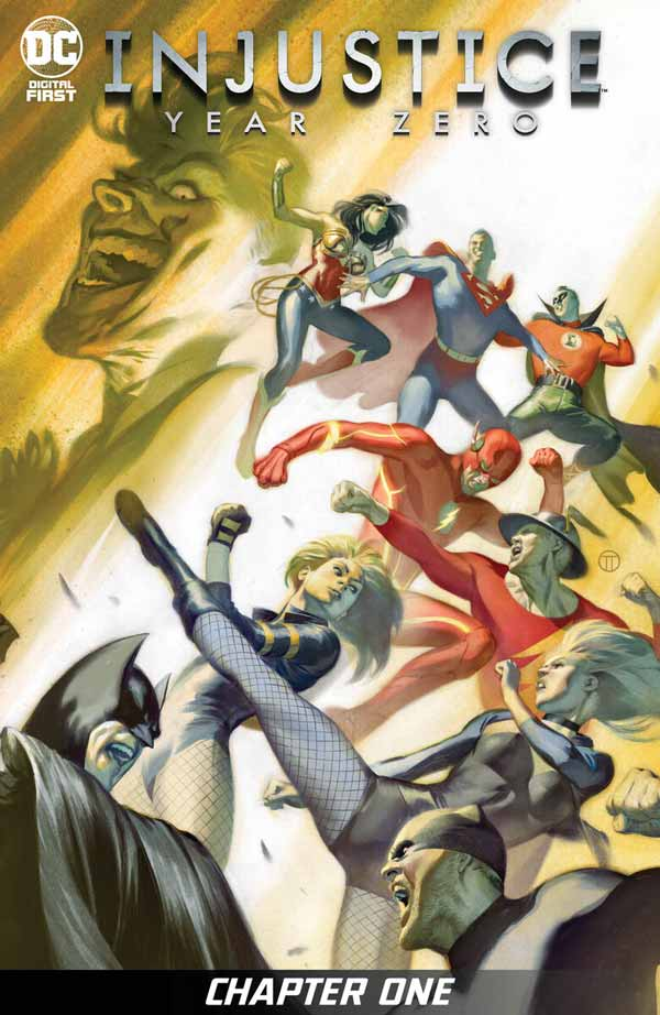 Несправедливість: Нульовий Рік #1, Injustice: Year Zero #1 коміксі