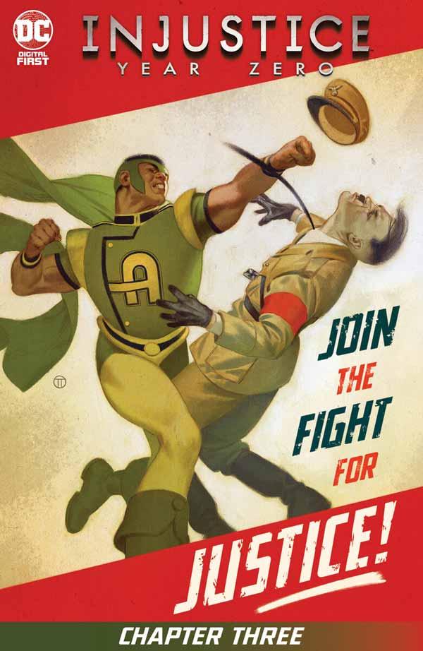 Несправедливість: Нульовий Рік #3, Injustice: Year Zero #3 комікси