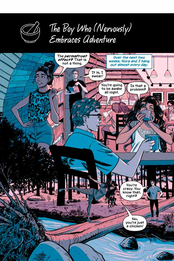 Victor and Nora: A Gotham Love Story, комікс Віктора та Нори: Історія кохання Готема, комікси ДС