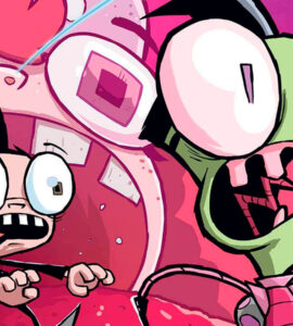 Завойовник Зім комікси, Invader Zim мультсеріал, комікси Зім