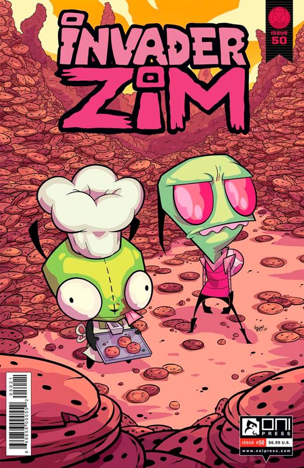 Завойовник Зім комікси, Invader Zim